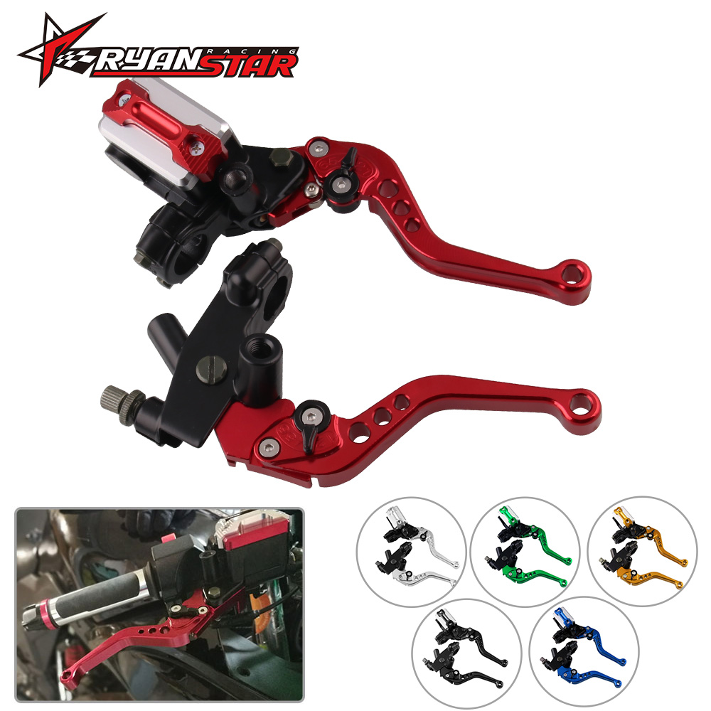 Clutch-Pump-Lever Piston Hydraulic-Master-Cylinder-Accessories CNC Motorcycle-Brake Universal title=