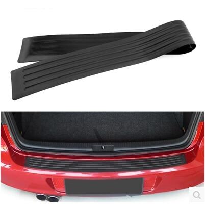 Car-Styling Rear Bumper Sill pedal Scuff Protective Stickers For Mazda 2 3 5 6 CX5 CX7 CX9 Atenza Axela