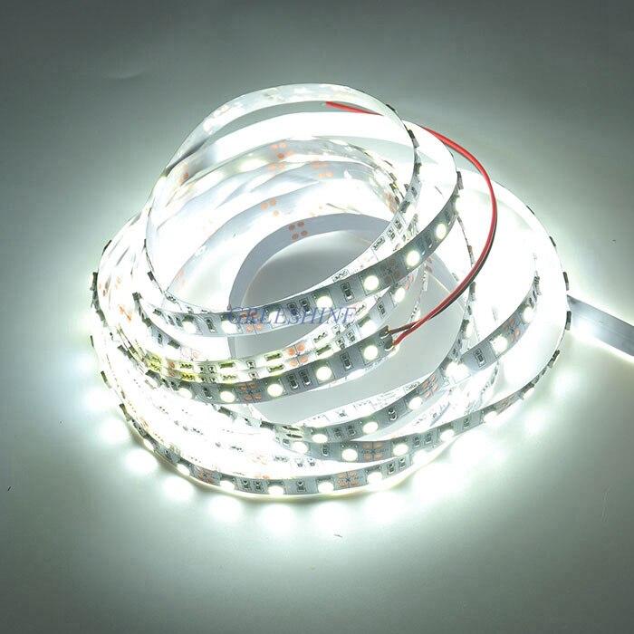 2700-6500 К 5050 Светодиодные ленты светодиодные Веревка свет белый природы в полоску <font><b>WW</b></font> 12 В 24 В 300 светодиодов/5 м/катушка 30 м/лот Бесплатная доставк&#8230;