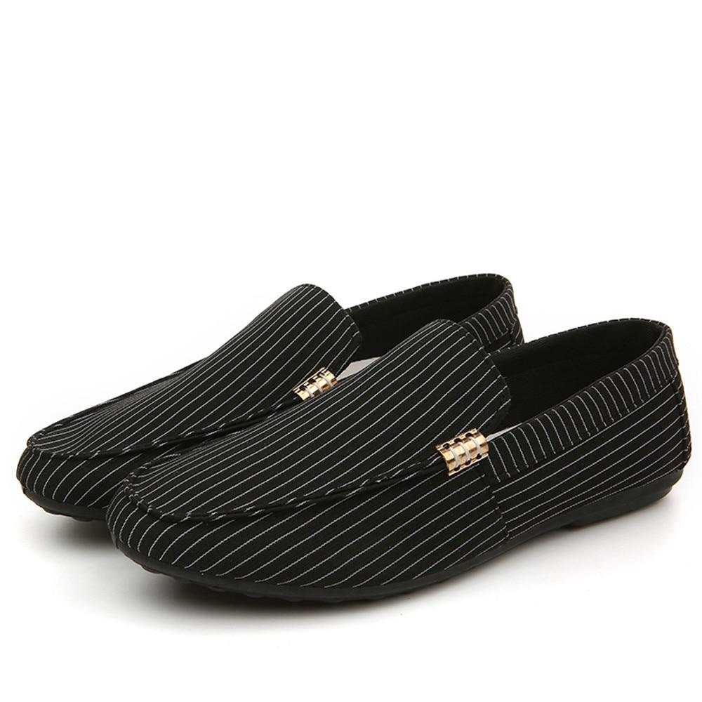 Toile Appartements Chaussures Shoeses Bande Hommes Homme Noir Souple Respirant Formateurs Noir Pois Mode Tricot 2018 blanc f7yYb6gv