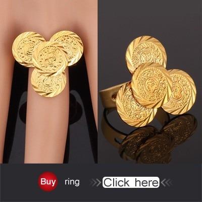 Islam Coin Bracelet Gold Color Bracelet Men Women Fashion Jewelry Muslim Arab Middle East Ancient Jewelry Vintage H882