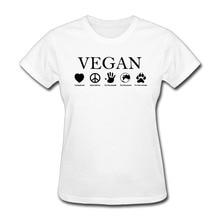 Why go Vegan girlie / women's t-shirt