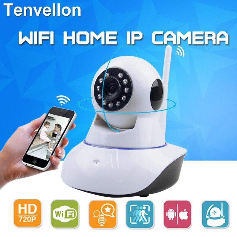 imágenes para 720 P Red de Seguridad CCTV WIFI cámara IP Megapixel HD Inalámbrico de Cámaras de Seguridad del IR Cámara de Vigilancia de Visión Nocturna Por Infrarrojos