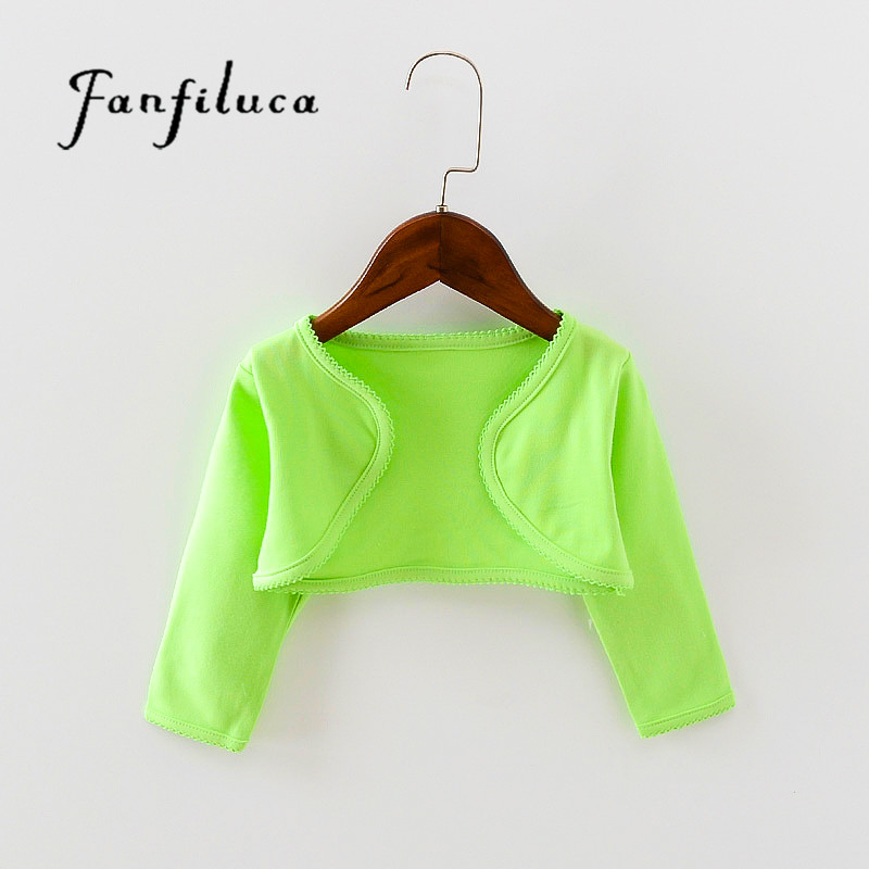 Fanfiluca Candy Color Cotton Baby Coat Spring Summer Baby Clothes High Quality Brand Clothing