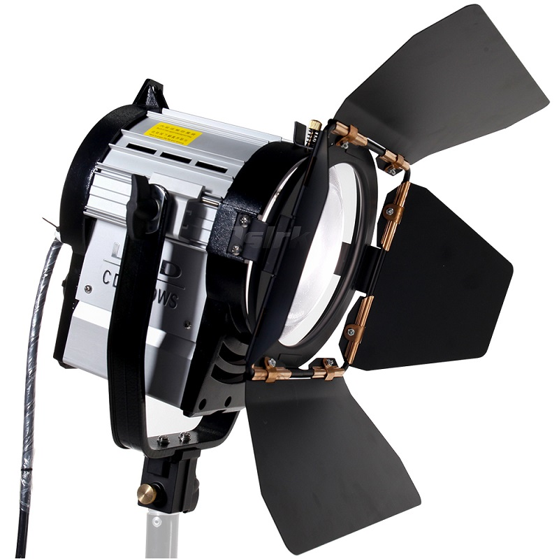ASHANKS 100W LED Spot Light Dimmable Bi-color Spotlight Studio Fresnel LED Light 3200-5500K For Studio Photo Video Lighting