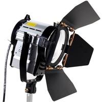 ASHANKS 100W LED Spot Light Dimmable Bi color Spotlight Studio Fresnel LED Light 3200 5500K for Studio Photo Video Lighting