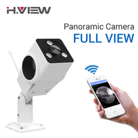 H VIEW 1080P Panoramic Cameras Outdoor 360 CCTV Camera 2mp IP Camera Wifi Camara IPS Fisheye