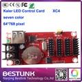 kaler xc4 led control card 64*768 pixel usb port led controller card with hub12 led display panel board electronic led open sign