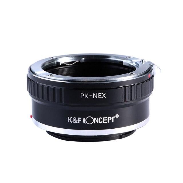 К & F Концепция Крепление Объектива Адаптер для Pentax PK K Крепление Объектива Sony nex E-Mount Камеры NEX-3 NEX-3C NEX-5 NEX-5C NEX-5N NEX-3N