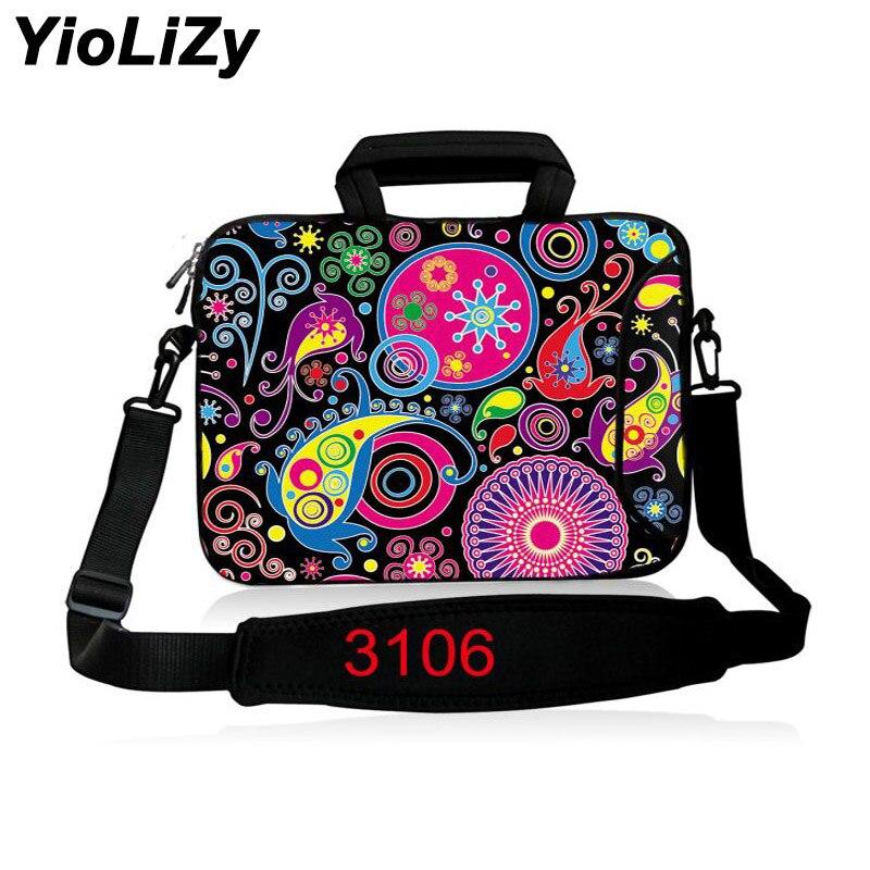 Laptop shoulder Bag tablet Case 9.7 11.6 13.3 14.1 15.6 17.3 inch Notebook sleev