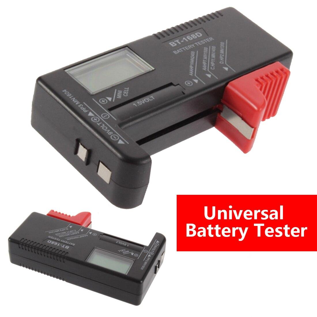 HDE Digital Alkaline AA AAA C D 9v Cell Battery Power Tester Volt Checker Tool