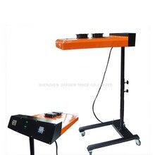 1PCS ND602 New Flash dryer for silk screen printing machine Tshirt printing machine printing area 50*60CM /220V недорого