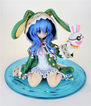 Date A Live Hermit Yoshino Kneeling Sexy PVC Action Figure Model Toys Anime Collection Gift 16cm