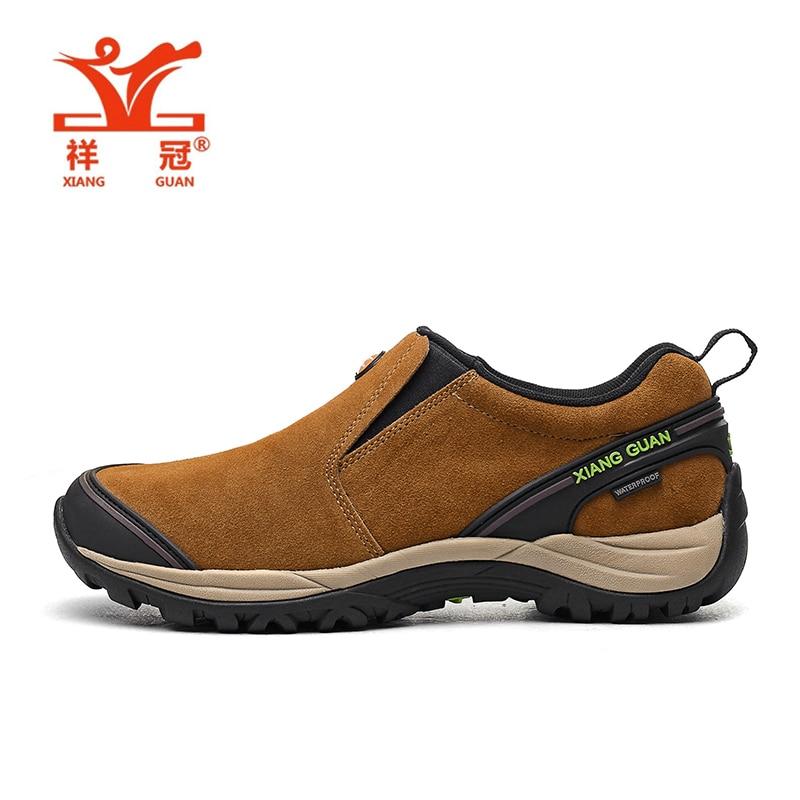 ФОТО XIANG GUAN Mens Sports Outdoor Hiking Shoes Sneakers For Men Sport Wearable Climbing Mountain Trekking Shoes Man Senderismo