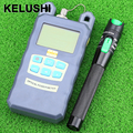 KELUSHI  Optical Fiber Power Meter -70dBm~+10 dBm Fiber Optic Power And 20mW 15KM Visual Fault Locator Fiber Optic Cable Tester