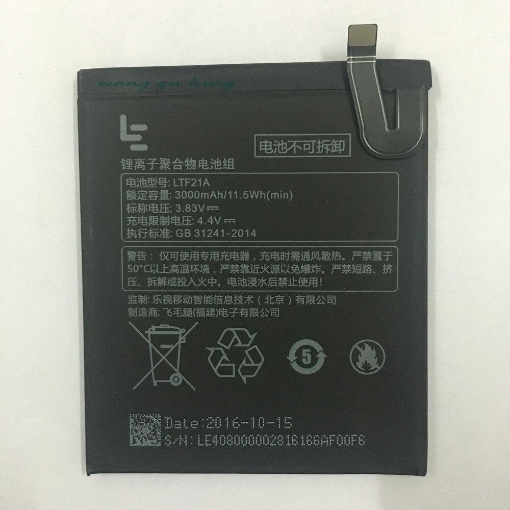 3100 mAh LTF21A batería para Letv LeEco Le 2X620 batería de repuesto LTF21A para Letv Le 2 Pro/ letv X526
