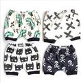 8pcs/lot boys girls children clothing batman skull dinosaur cross shorts boys pants 0531 sylvia 531456454117