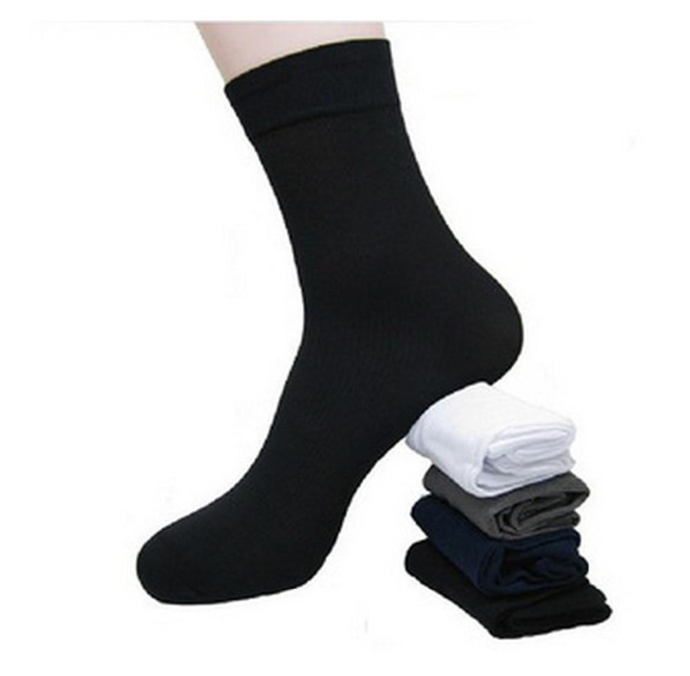 Men's Socks Summer Cool Socks New 2019 Hot Ultra Thin Plus Free Size Sock Cheapest 10Paris/Lot Men Stockings Bamboo Fibre Socks