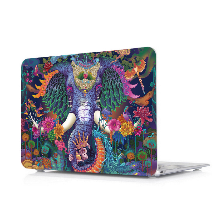 Stylish Print Pattern Case for MacBook 13