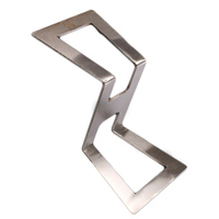 Stainless Steel Woodworking Tool Z Type Universal Dovetail Marker Template Stainless Steel Dovetail Gauge Size 1:5-1:6 1:7-1:8