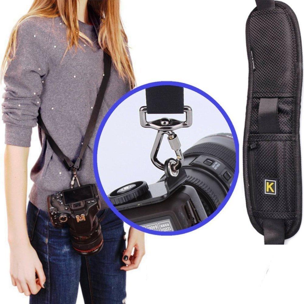 Quick Strap Rapid Camera Single Shoulder Q Sling Belt Neck Strap For Canon Nikon Pentax Panasonic
