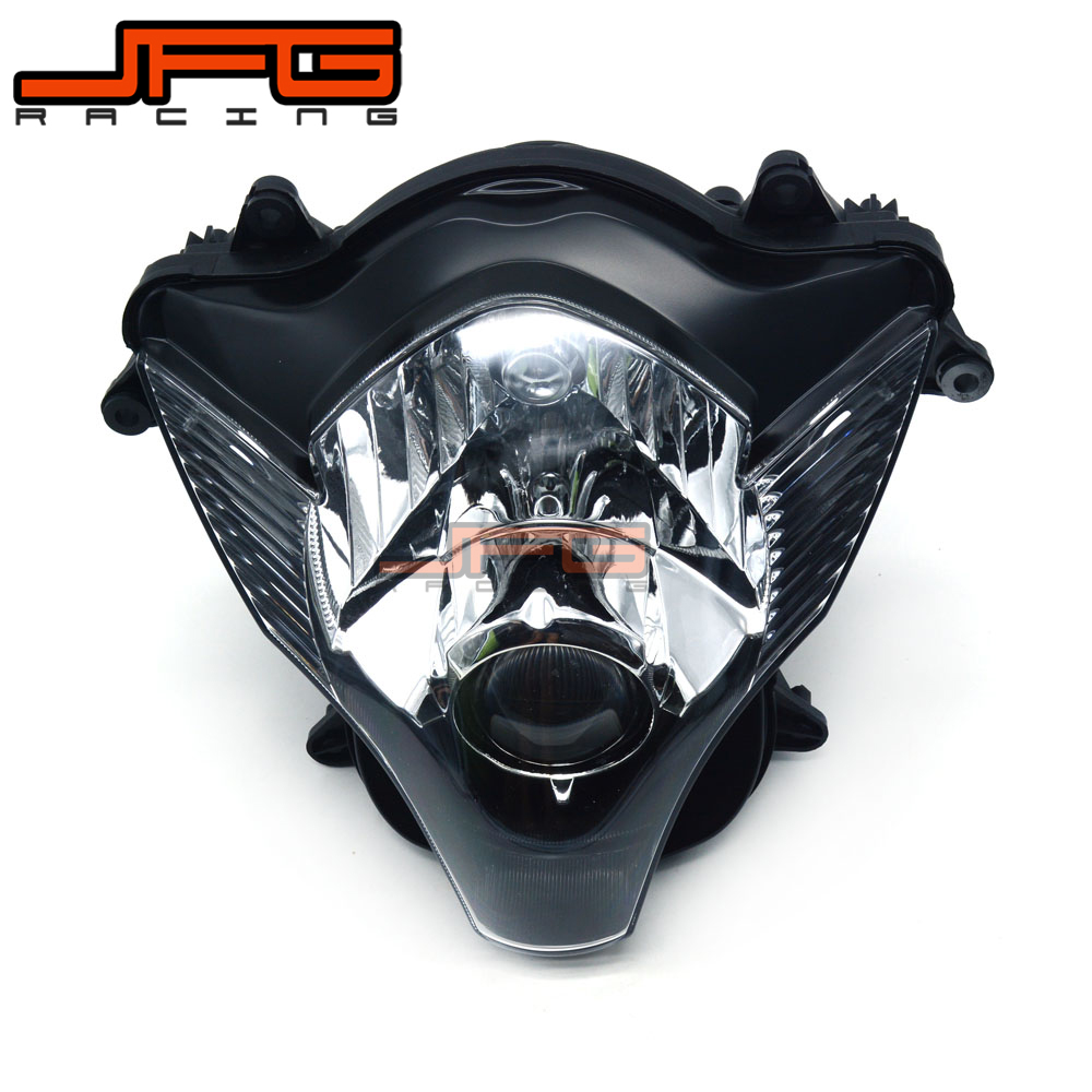 Clear Front Headlight Headlamp Street Fighter for Suzuki GSXR600 GSXR750 GSX600R GSX750R GSXR 600 750 2006-2007 2006 2007 K6Clear Front Headlight Headlamp Street Fighter for Suzuki GSXR600 GSXR750 GSX600R GSX750R GSXR 600 750 2006-2007 2006 2007 K6