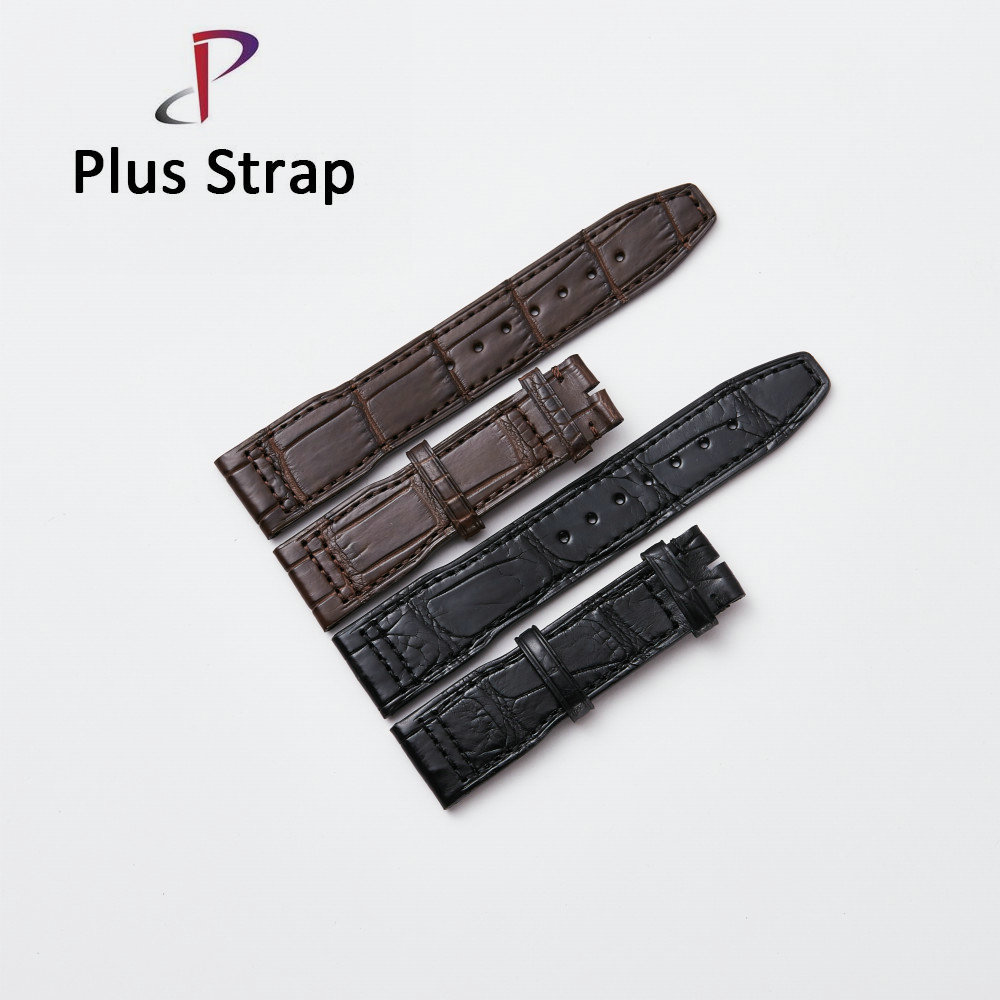20 21 22mm Men Real Crocodile Skin Watch band for IWC Watches Strap Replacement Wristband Women Belt no Buckle High Quality сумка coccinelle coccinelle co238bwynt80
