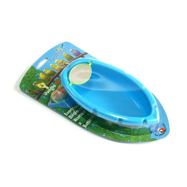 CAITEC Bird Toys Parrot Bathtub 5