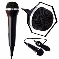Universal USB Wired Karaoke Mic Microphone For PS4 For Xbox One For Wii PC