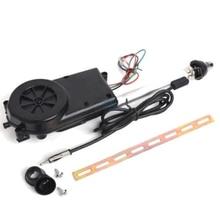 Universale 12 V Auto Automatico Antenna Kit Auto AM & FM Radio di Energia Elettrica Mast Aerea
