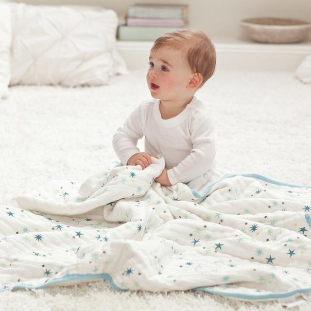 Новый Стиль Двойной Одеяло Новорожденный Постельные Принадлежности Ковер Детские Весна Осень Зима Толстая Пеленание
