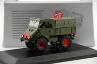 Classic Diecast Toy Model 1:43 Scale Mercedes Benz Unimog U401 Off Road Truck Vehicles for Man,Boy Gift,Decoration,Collection