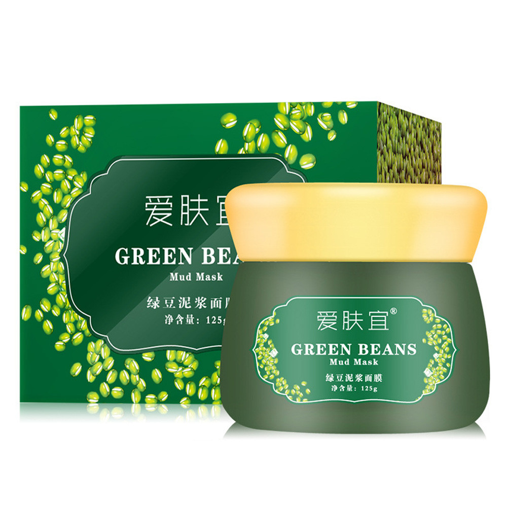 AFY Mung Bean Mud Mask Unisex Skin Care Cosmetic