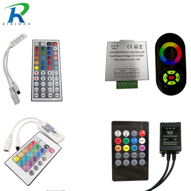 Riri won smd rgb led remote controller switch wireless led riri won smd rgb led remote controller switch wireless led controller dc 12v for rgb led aloadofball Images