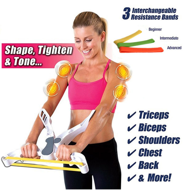 Arm Strength Brawn Training Device Forearm Wrist Exerciser Force Fitness Equipment Arm Blaster Hand Fitness Hand Massager