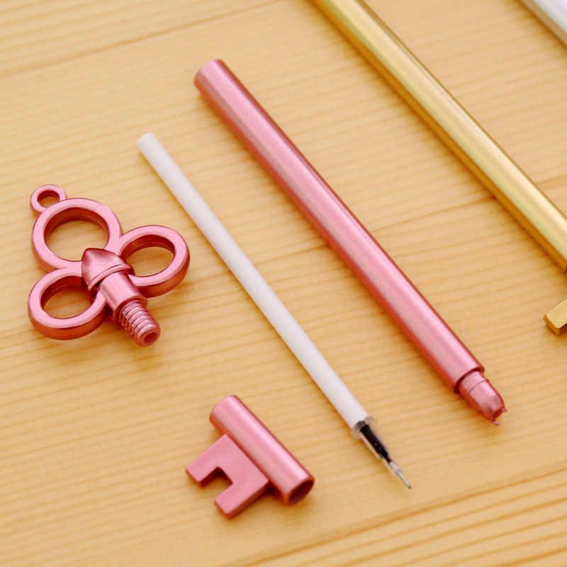 1 قطعة هلام القلم مفتاح نمط اللوازم المدرسية مكتب القرطاسية ألبوم صور Kawaii أقلام طالب المدرسة الهدايا القرطاسية التوصيل المجاني