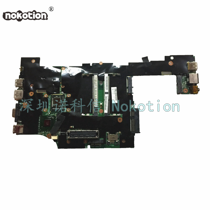NOKOTION FRU 04W3286 04W0676 04W0677 For Lenovo ThinkPad X220 Laptop Motherboard SR04A Core i5-2520M cpu 2.5GHz  Mainboard works fru 63y1896 for lenovo thinkpad w510 laptop motherboard qm67 ddr3 nvidia quadro fx 880m 15 6 inch