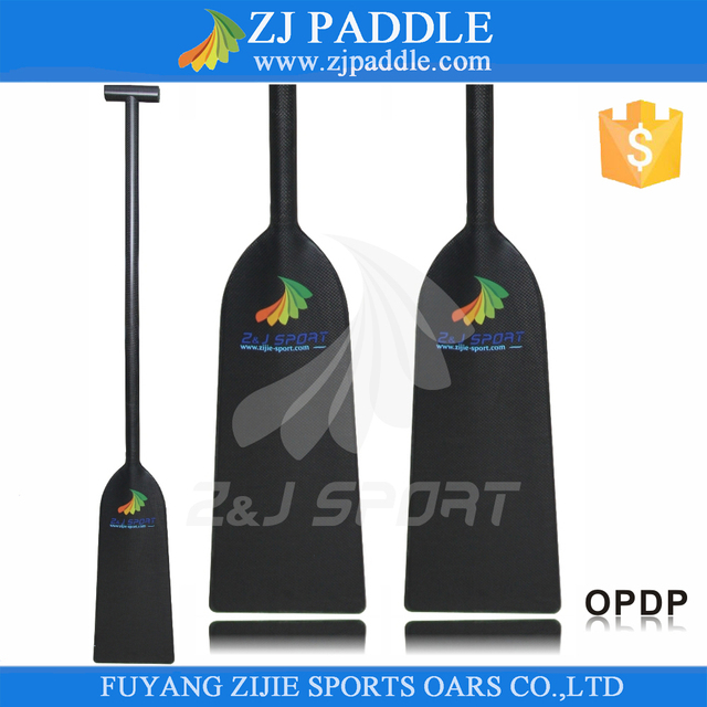 Hot Sales IDBF Approved 1-Piece Carbon Dragon Boat Paddle With 4 Handle Options