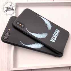 Venom For Fundas iPhone XS Max Shell Cover For Case iPhone 8 Plus XR Coque for Case iPhone 5 5S 6 7 8 Plus SE X XR Phone Cover 3