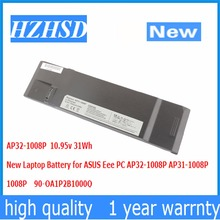 10 95v 31Wh New AP32 1008P Laptop Battery for ASUS Eee PC AP32 1008P AP31 1008P