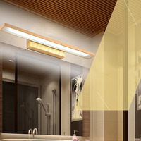 WECUS Updated Modern Led Mirror Front Lamps Bathroom Toilet Wall Lamp Color Temperature Can Be