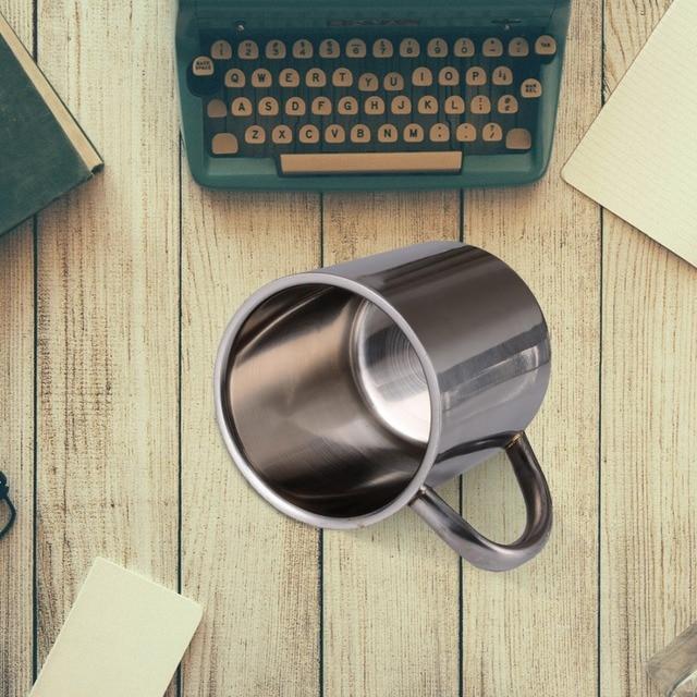 Double Wall Stainless Steel Coffee Mug 5