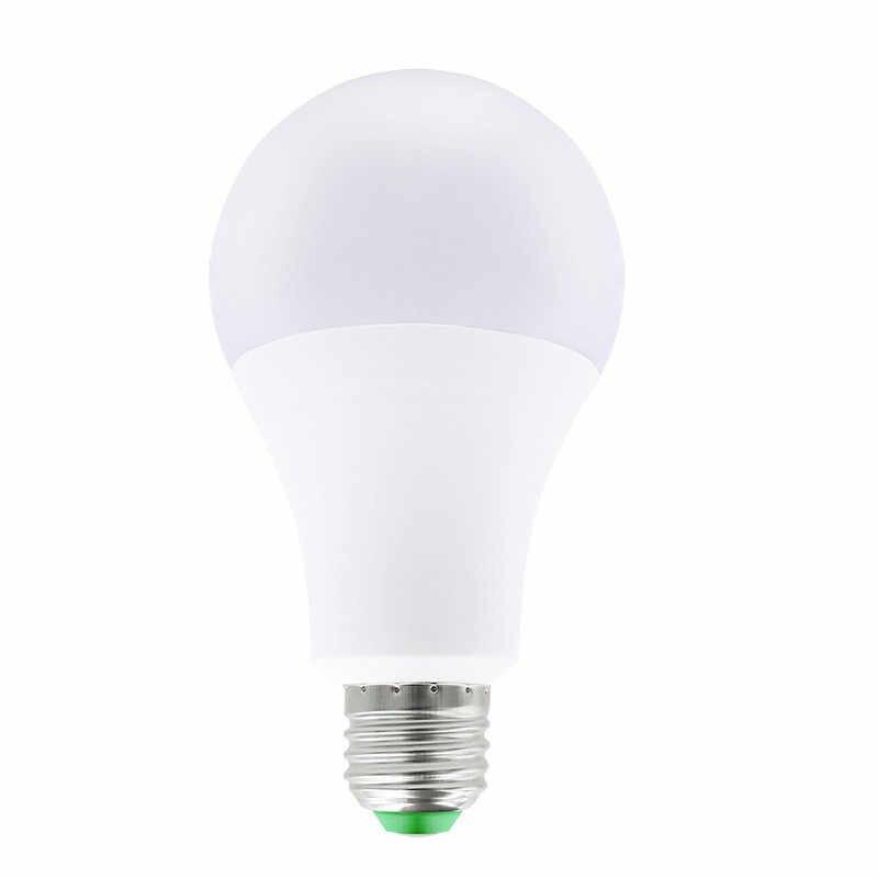 الصمام لمبة مصابيح E27 E14 220 V ضوء لمبة الذكية IC الحقيقي الطاقة 5 W 9 W 12 W 15 W 18 W 20 W 25 W عالية السطوع مصباح LED بومبيليا الضوء