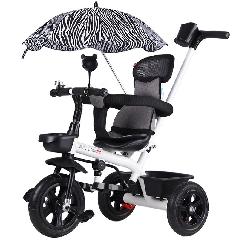 6cc53c003c5 Triciclo de Pedal para niños 1-3-5 años de edad cochecito de bebé bicicleta  cochecito de viaje paraguas para bebé triciclo ~ Top Deal July 2019