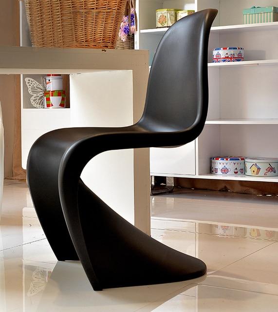 Minimalistischen Modernen Design Klassischen Stil Stühle S Form  Esszimmerstuhl Kunststoff Form Esszimmer Möbel Modernes Design Amazing Ideas