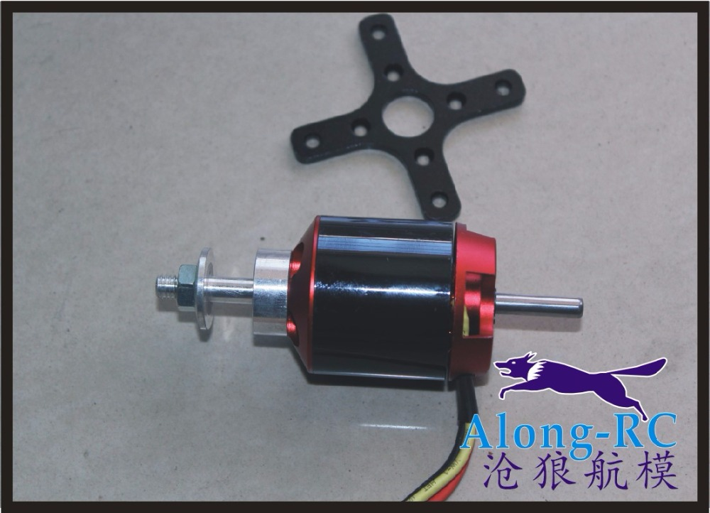free shipping BRUSHLESS MOTOR 3648kv750/4s about 2.4kg push use for tianshen 1200mm F3A PLANE