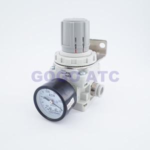 Image 5 - Áp suất âm hút chân không điều chỉnh IRV10/20 Thẳng/Khuỷu Tay phụ kiện có đồng hồ Áp Suất/Kỹ Thuật Số Công tắc áp lực điều chỉnh