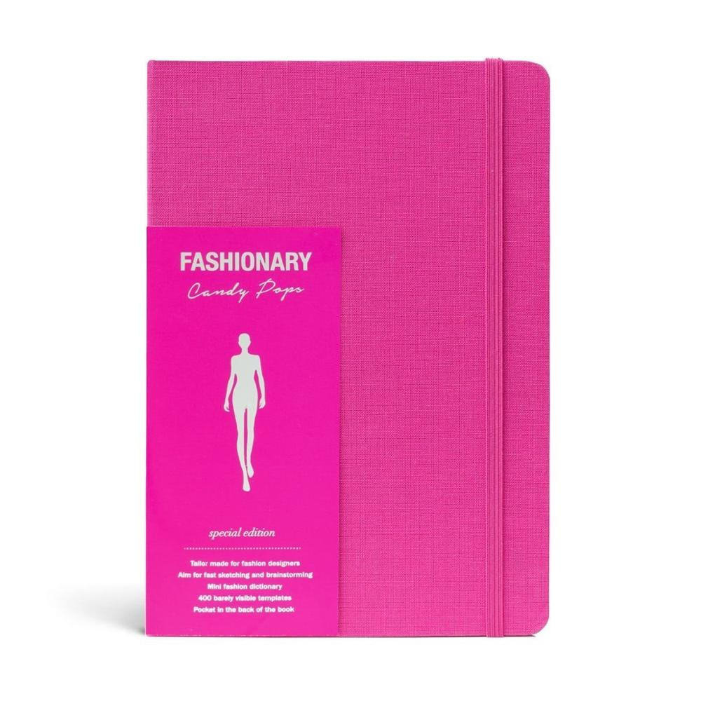 A5 Womens Sketchbook Cherry Notebook With 130 Pages Fashion Figure Templates And Fashion Dictionary Candy Color In Notebooks From Office School