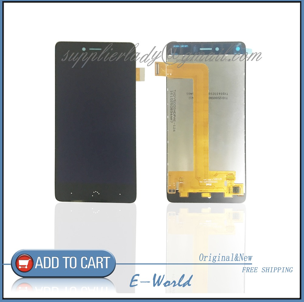 Original Quality Tested For BQ Aquaris U lite LCD Display Touch Screen Assembly 100 working well