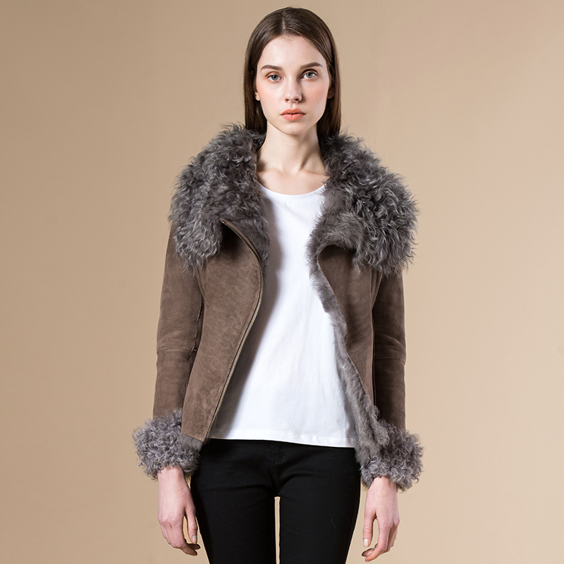 Compare Prices on Shearling Jacket Women- Online Shopping/Buy Low ...